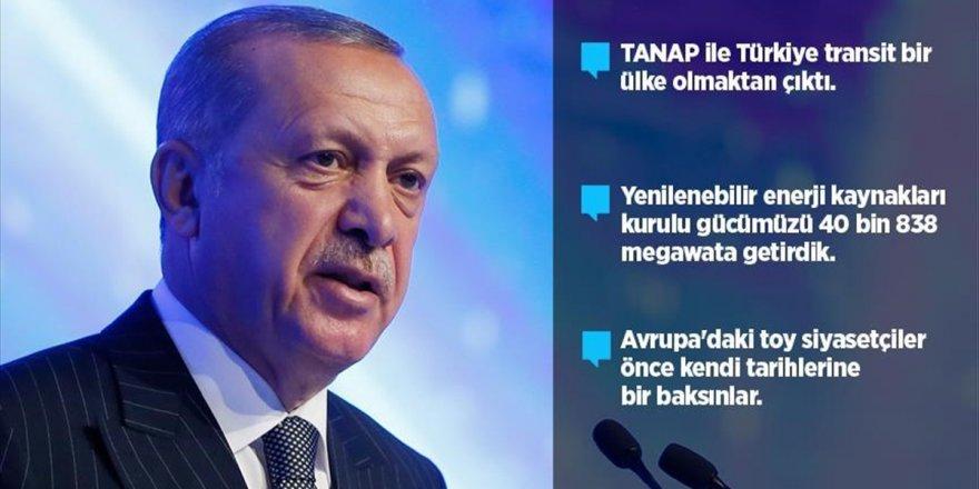 'Tanap İle Türkiye Transit Bir Ülke Olmaktan Çıktı'