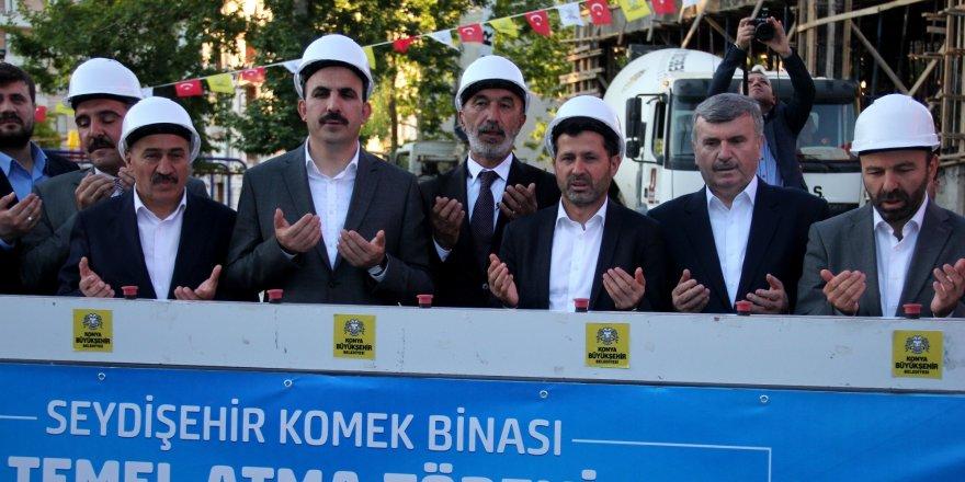 Seydişehir Komek Binasının Yapımına Başlandı