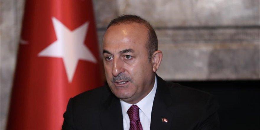 Dışişleri Bakanı Mevlüt Çavuşoğlu: Münbiç'i Abd İle Birlikte İstikrara Kavuşturacağız