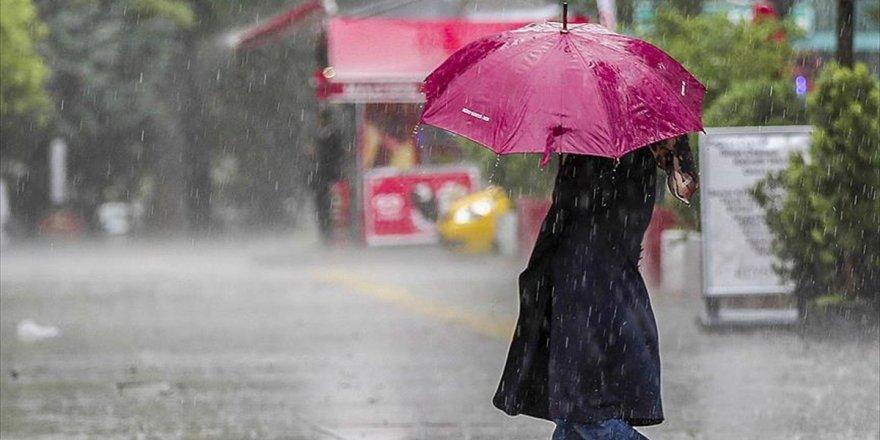 Marmara Bölgesi İçin Yağış Uyarısı
