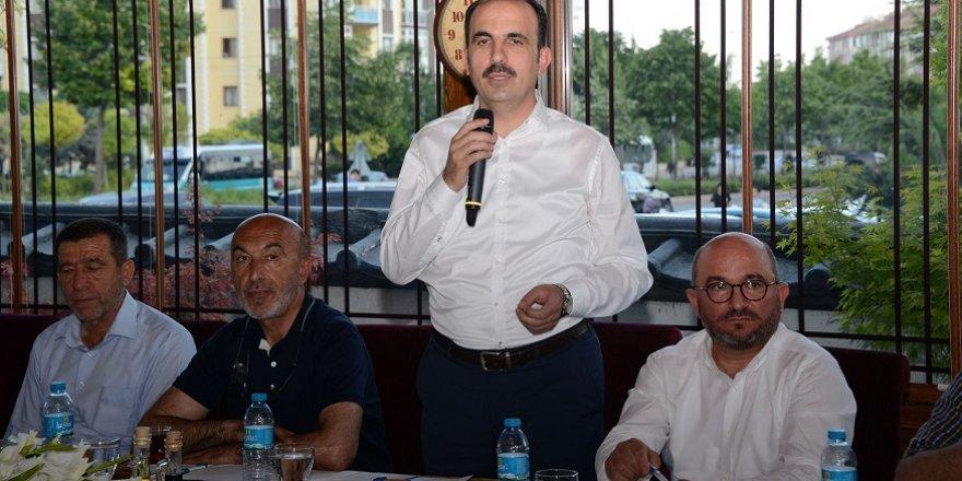 """Başkan Altay: """"Gönül belediyeciliği yapıyoruz"""""""