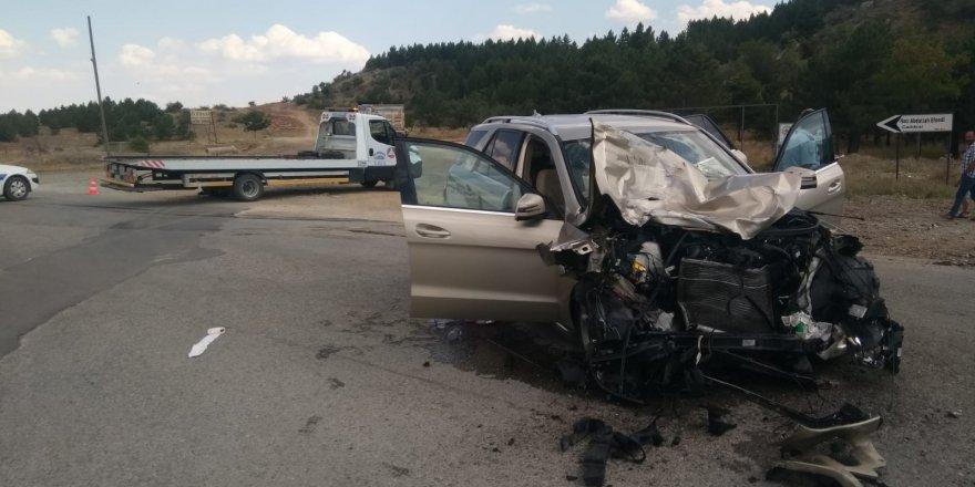 Konya'da Tır İle Otomobil Çarpıştı: 7 Yaralı