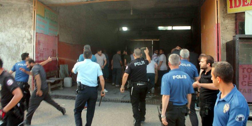 Konya'da iki grup arasındaki kavgada silahlar çekildi