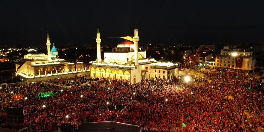 Konya'da 15 Temmuz Demokrasi ve Milli Birlik Günü