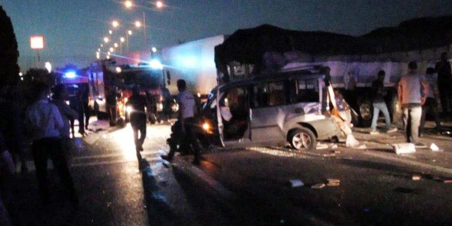 Ankara-Konya yolunda zincirleme kaza