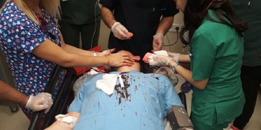 Hasta yakını, çocuk doktorunu komalık etti