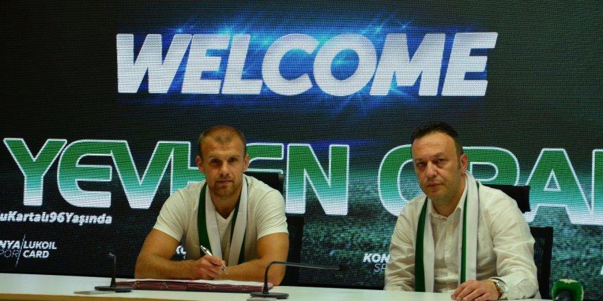Yevhen Opanasenko Konyaspor'da