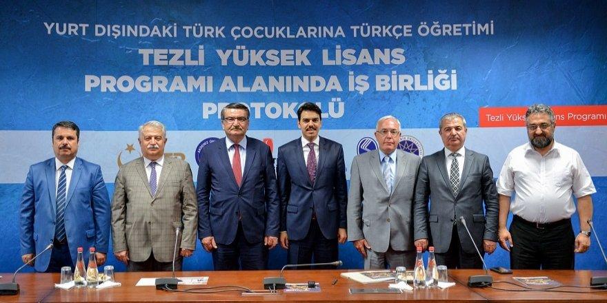 NEÜ, yurt dışındaki çocuklar için Türkçe öğreticileri yetiştirecek