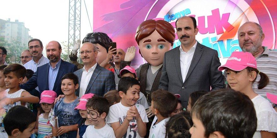 Konya Çocuk Festivali On Binlerce Çocuğu Ağırlıyor