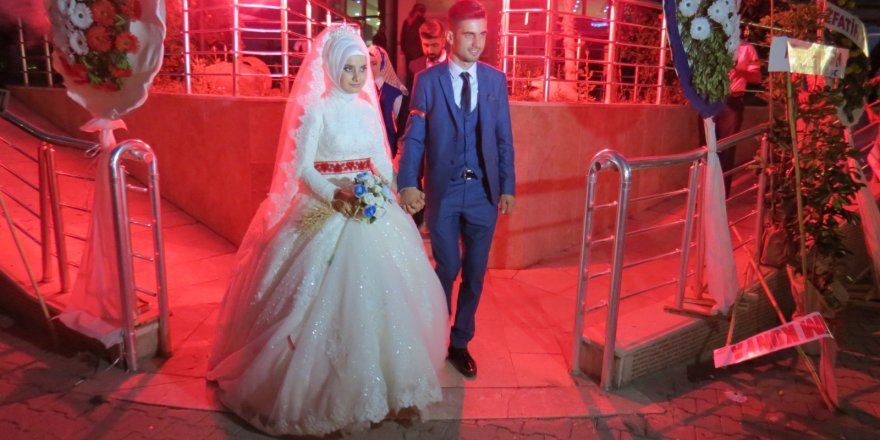 Şerife ile Ahmet evlendi