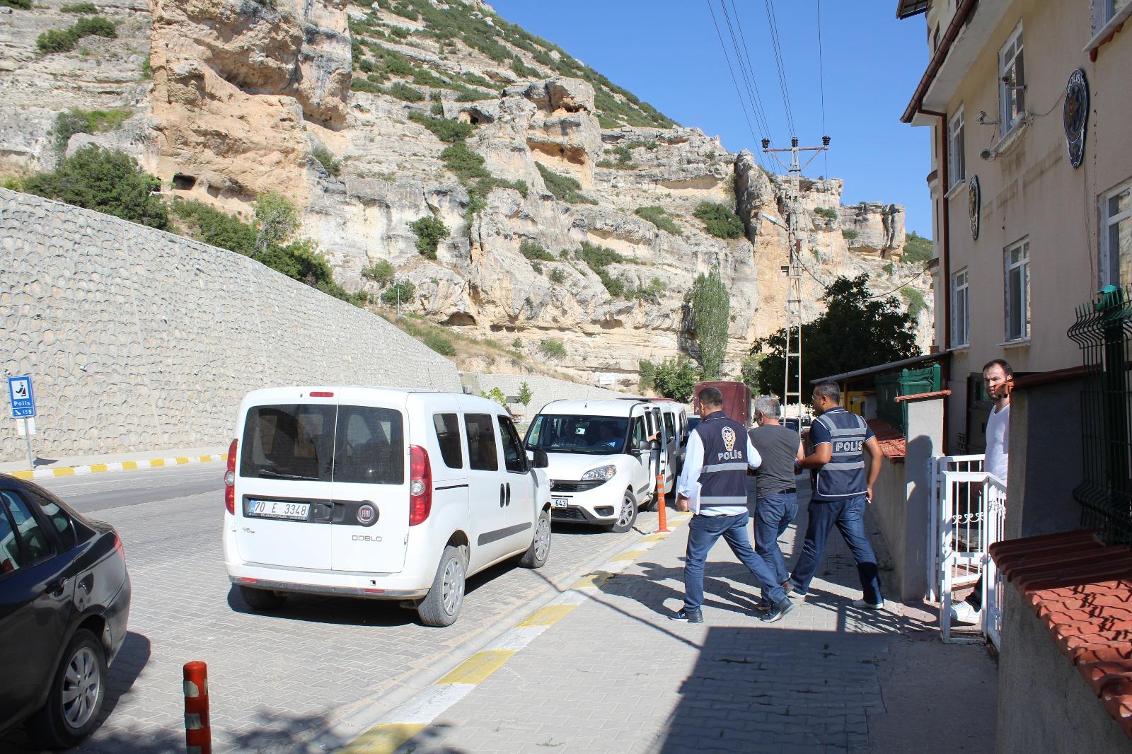 Ermenek'te 'fuhuş' operasyonu: 5 gözaltı