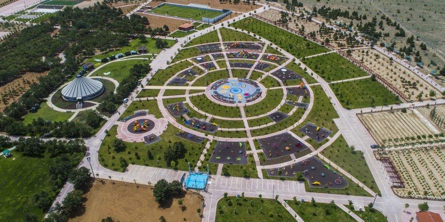 İşte Konya'nın ilk Millet Bahçesi