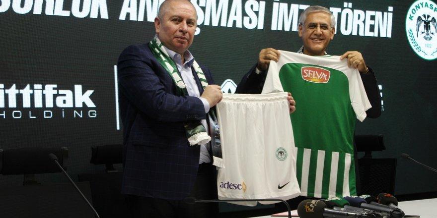 Konyaspor, İttifak ile 'Devam' dedi