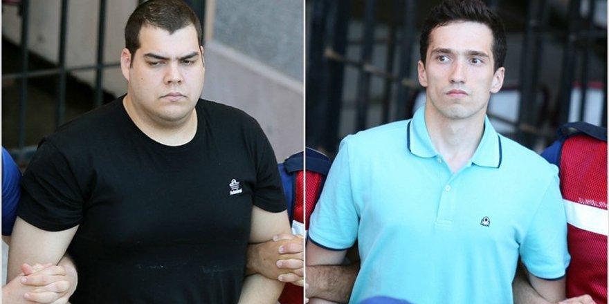 Tutuklu 2 Yunan Askeri İçin Karar