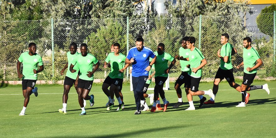 Atiker Konyaspor'da Antalyaspor maçı hazırlıkları