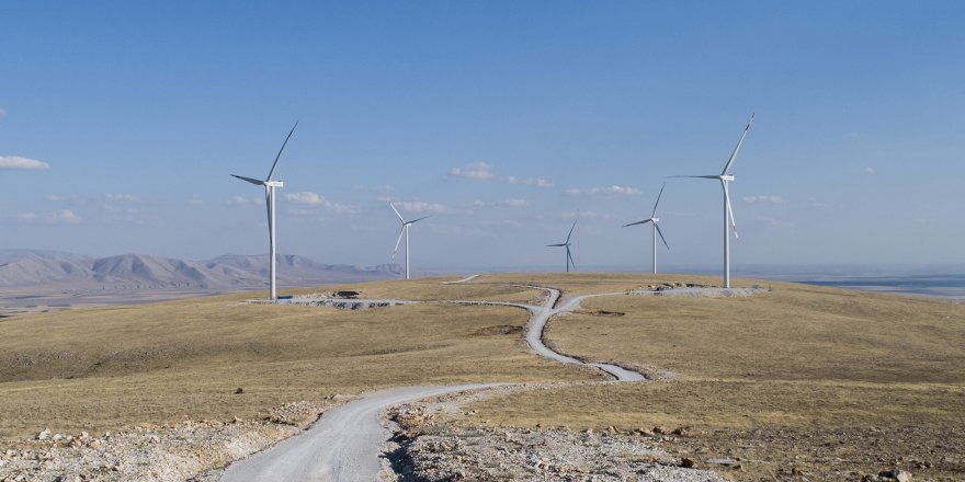Rüzgar Enerjisiyle,150 bin konutun elektrik ihtiyacı karşılanacak