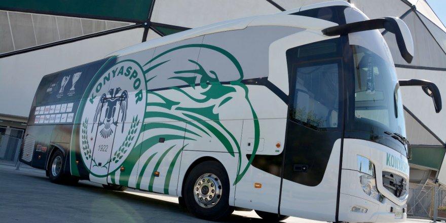 Takım otobüsü yeniden giydirildi