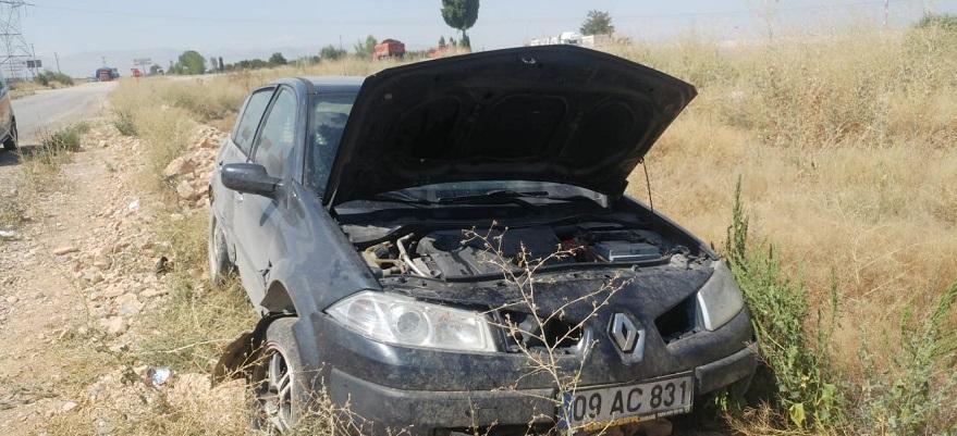 Kontrolden çıkan otomobil şarampole yuvarlandı: 5'i çocuk 10 yaralı