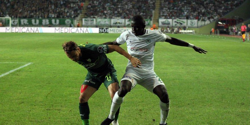Konya'da puanlar paylaşıldı: 1-1