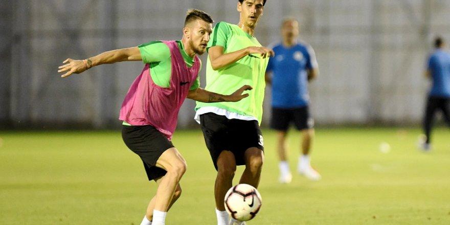 Konyaspor, Y. Malatyaspor maçının hazırlıklarını sürdürdü