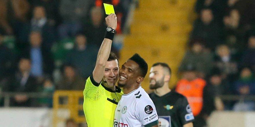 Konyaspor-Fenerbahçe hakemi belli oldu