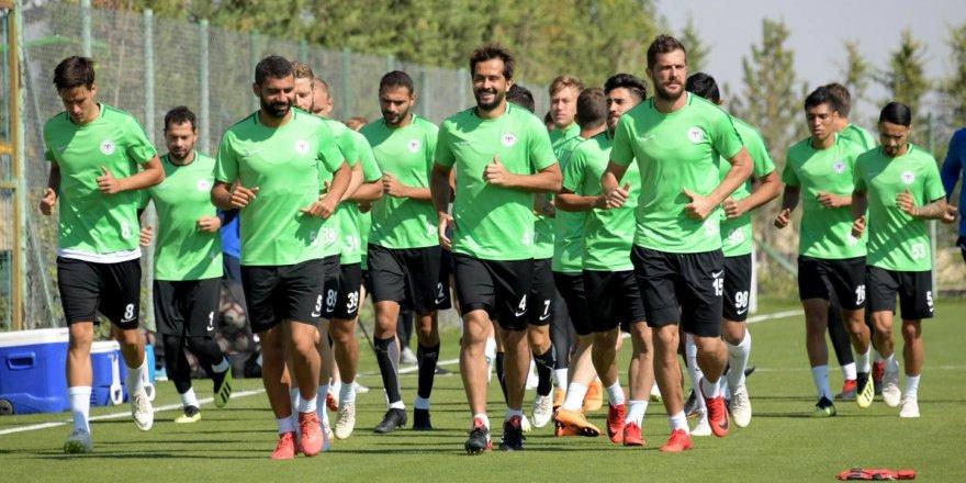 Konyaspor'da Fenerbahçe hazırlıkları