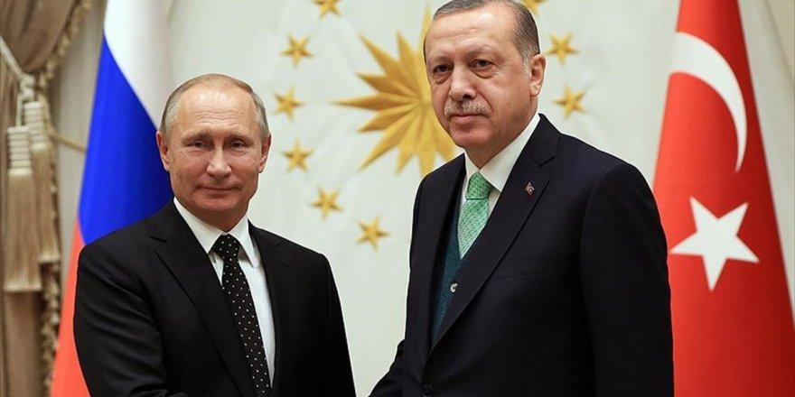 Cumhurbaşkanı Erdoğan, Rusya Devlet Başkanı Putin İle Görüşecek