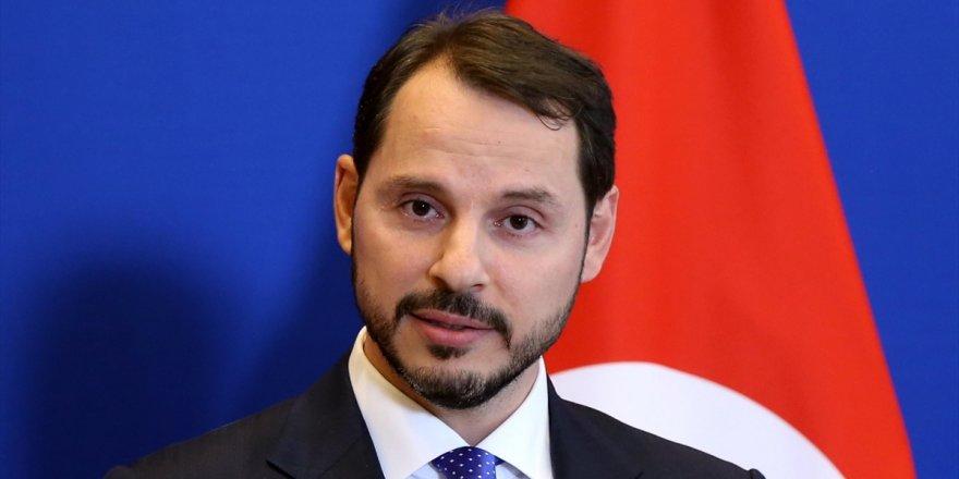 Tüsiad Heyeti Hazine Ve Maliye Bakanı Berat Albayrak'ı Ziyaret Etti