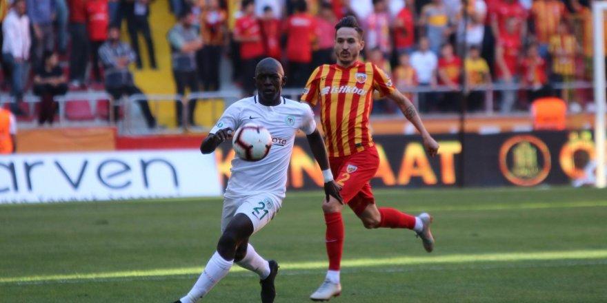 Kayserispor-Atiker Konyaspor: 0-2