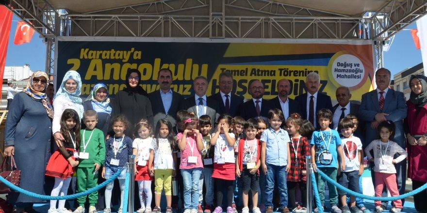 Karatay'a 2 yeni anaokulu kazandırılacak
