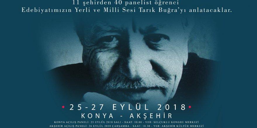 Edebiyatımızın Yerli ve Milli Sesi Tarık Buğra Konya'da Anılacak