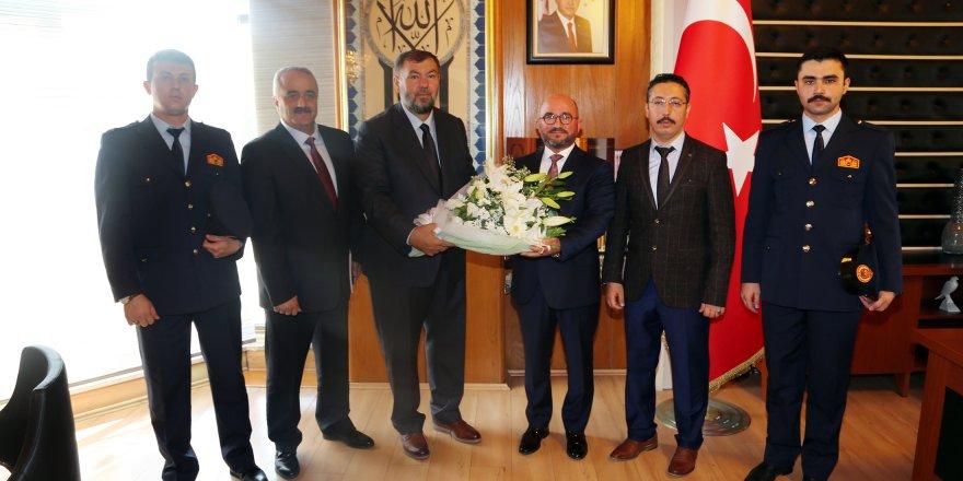 Konya'da İtfaiye Haftası Kutlamaları