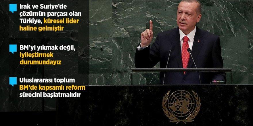 Cumhurbaşkanı Erdoğan: İnsanlığın Kalbi Olması Beklenen Bm'nin Nabzı Atmıyor