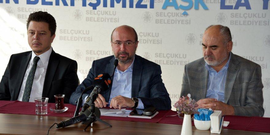 Şehre dair projeler Selçuklu'da hayat buluyor