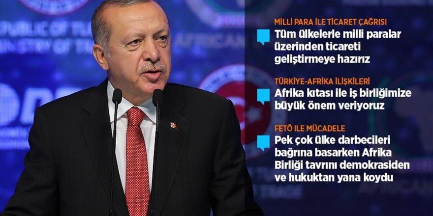 Erdoğan'dan Afrika'ya Milli Para İle Ticaret Çağrısı