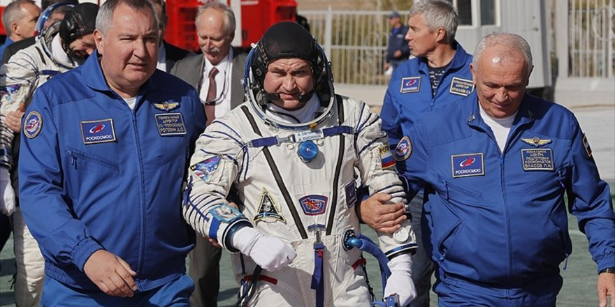 Rus Uzay Aracı Soyuz Acil İniş Yaptı