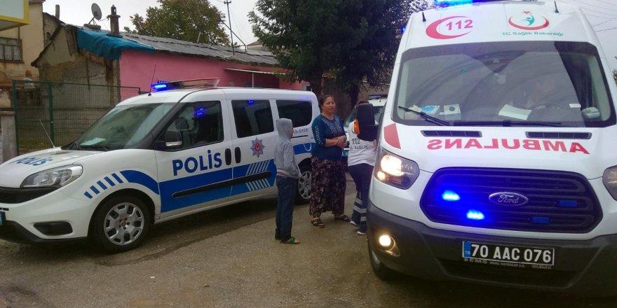 Komşu kavgasında 37 günlük bebek ağır yaralandı