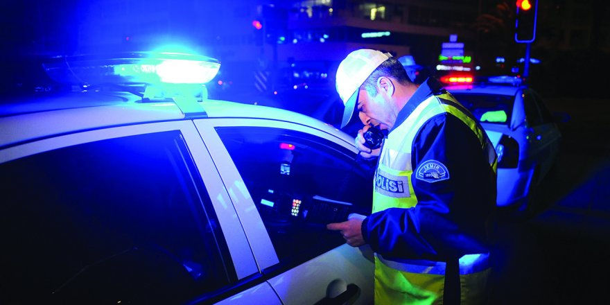 1602 ehliyete el konuldu, 2 bin 528 araç trafikten men edildi