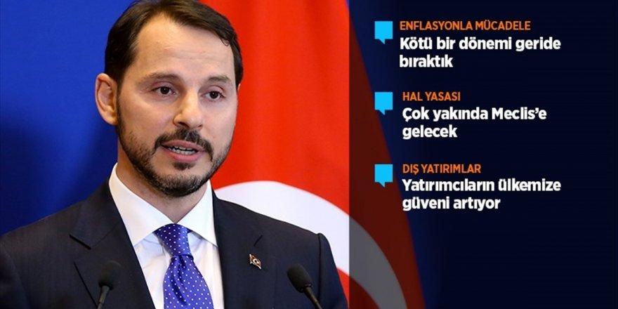 Hazine Ve Maliye Bakanı Albayrak: Kötü Dönemi Geride Bıraktık