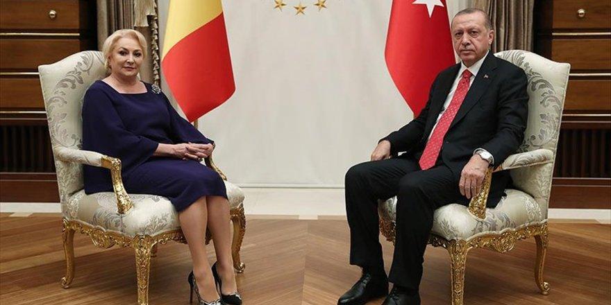 Romanya Başbakanı Dancila Ankara'da