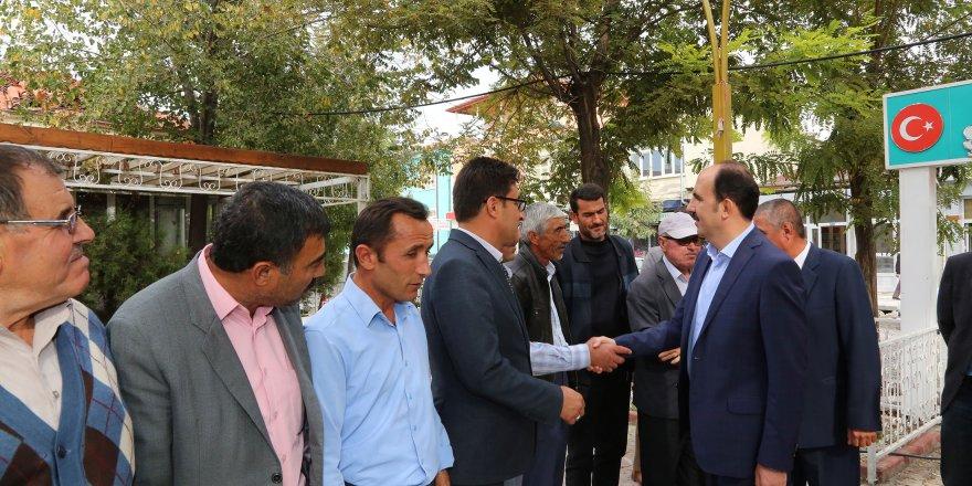Başkan Altay Karapınar ve Emirgazi Halkıyla Buluştu