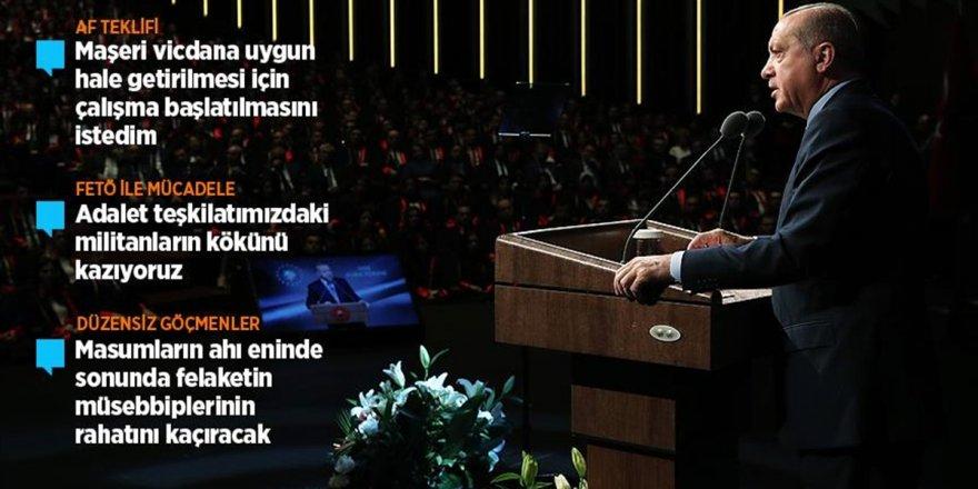 Cumhurbaşkanı Erdoğan'dan Af Tartışmalarıyla İlgili Açıklama
