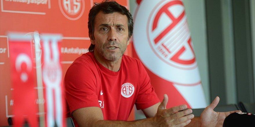 Antalyaspor Teknik Direktörü Korkmaz: Önümüzdeki Senelerde Yukarılara Oynayan Bir Antalyaspor Olacak