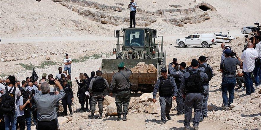 Filistin Yargısından 'Han El-ahmer'de Yıkımın Engellenmesi' Kararı