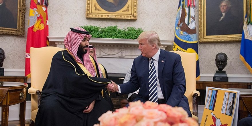 Trump, Suudi Arabistan Veliahtı Bin Selman İle Görüştü