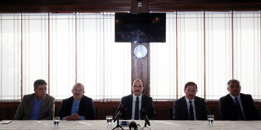 Başkan Altay Şehir İstişarelerinde Basın Mensuplarıyla Buluştu