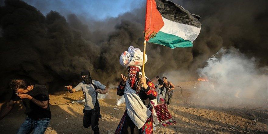 İsrail Kurşunları Filistinlileri Yıldırmıyor