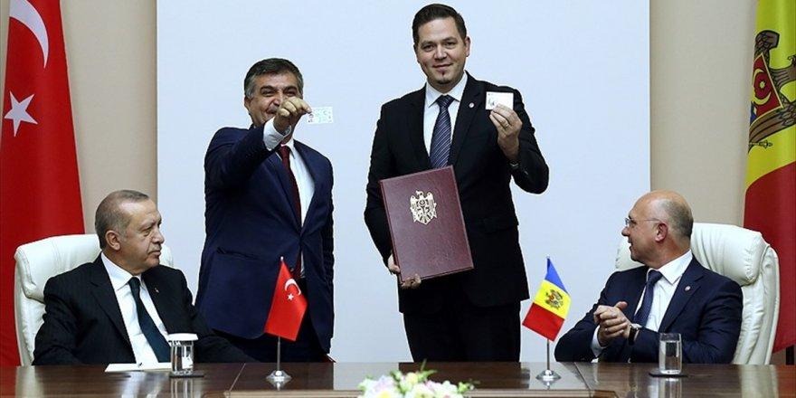 Moldova İle 5 Anlaşma İmzalandı