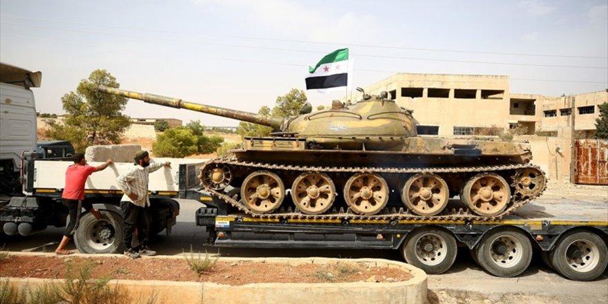 Rusya'dan 'İdlib'den Binden Fazla Savaşçı Ayrıldı' Açıklaması