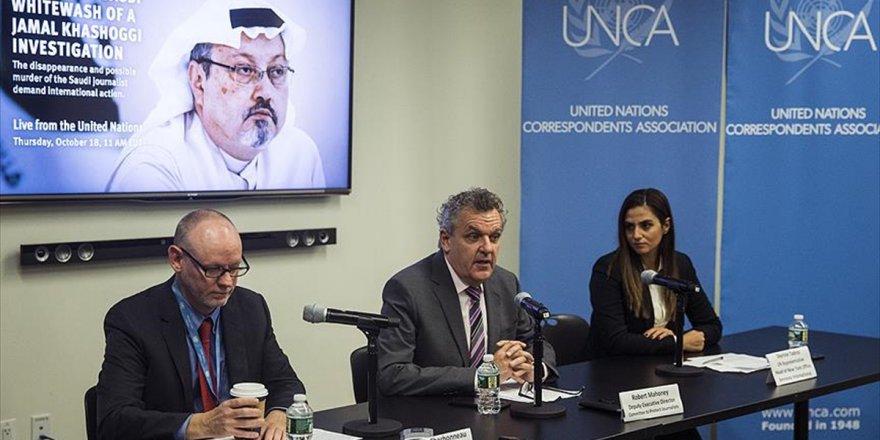 Uluslararası İnsan Hakları Örgütlerinden 'Kaşıkçı' Çağrısı